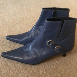 Charles David Blue Boots Booties size 37
